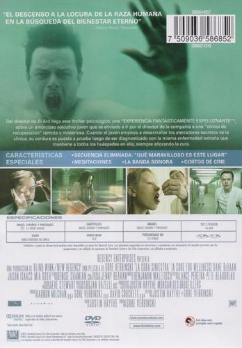 la cura siniestra a cure for wellness pelicula dvd