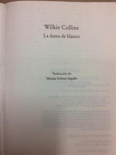 la dama de blanco- wilkie collins.