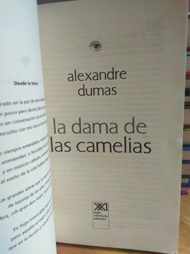 la dama de las camelias. alexandre dumas