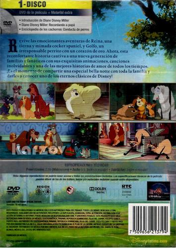 la dama y el vagabundo walt disney edicion especial dvd