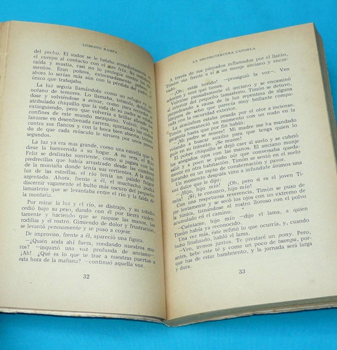 la decimotercera candela lobsang rampa ediciones troquel