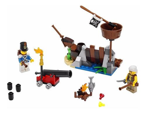 la defensa del naufragio - lego pirates