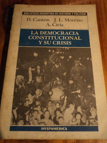 la democracia constitucional y sus crisis,d.canton/by thx77