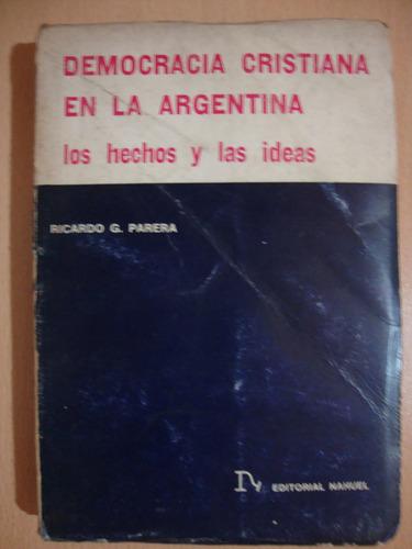 la democracia cristiana en la argentina - ricardo parera