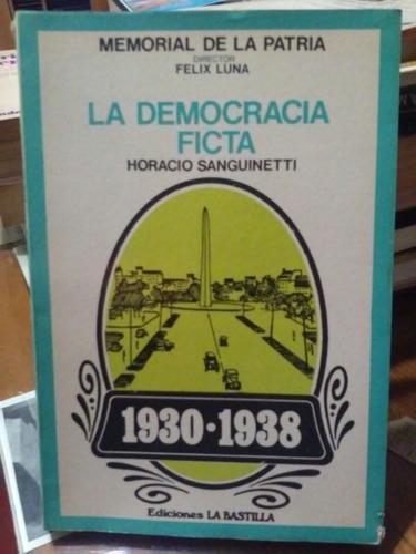 la democracia ficta (1930-1938)
