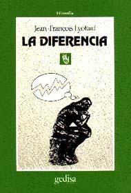 la diferencia / jean francois lyortard