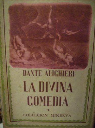 la divina comedia dante alighieri en verso ed. minerva 2 t.