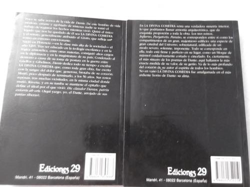 la divina comedia dante aligieri completo 2 tomos en verso