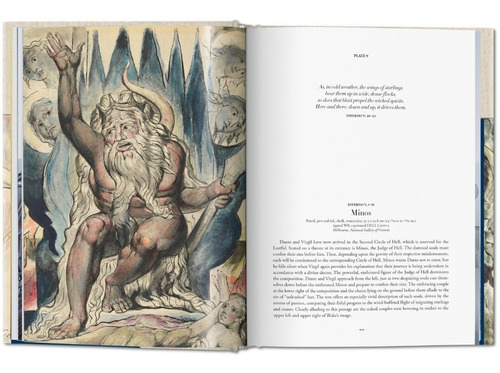 la divina comedia de dante - william blacke - taschen