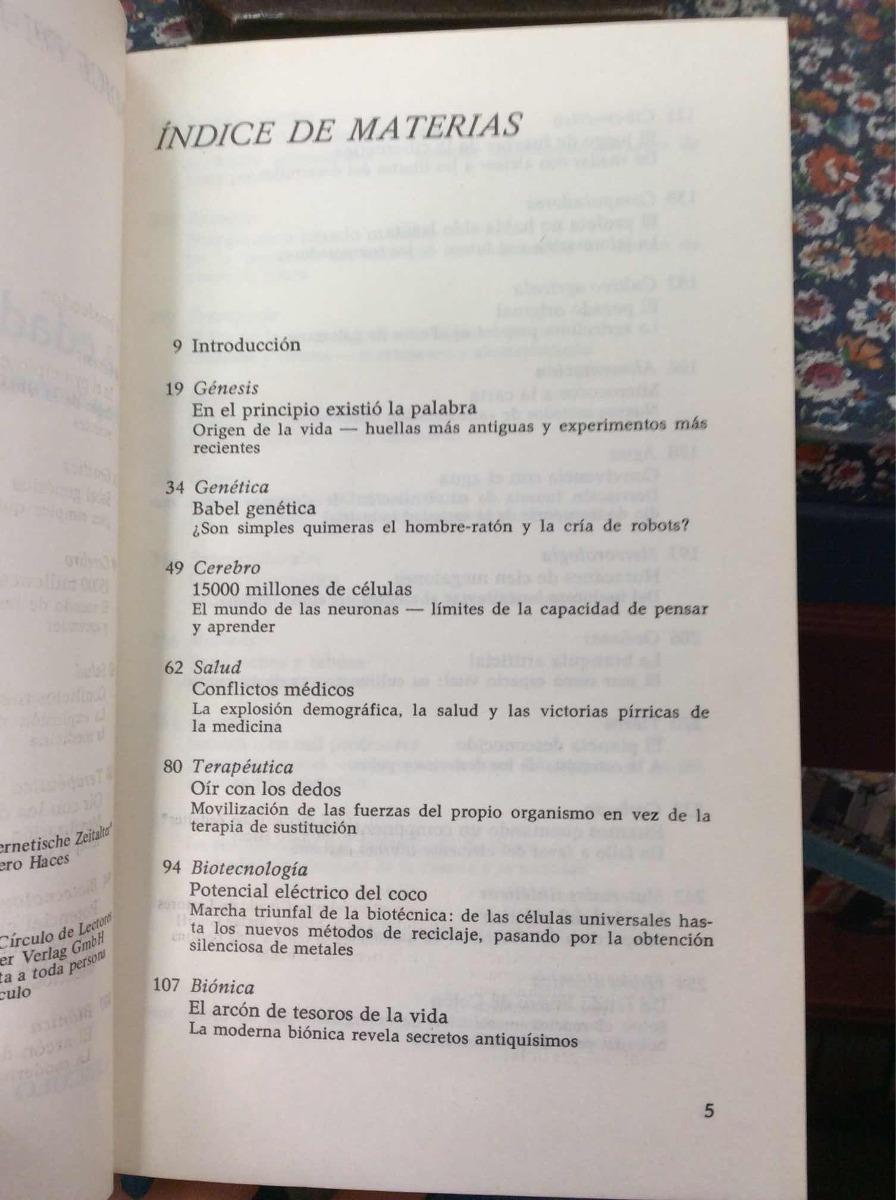 960 Edad La Frederic Vester28 Cibernética Por RLjq354A