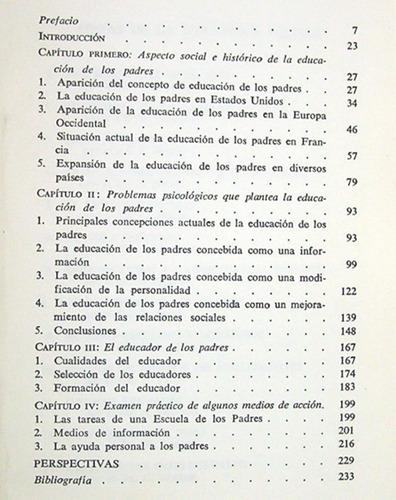 la educación de los padres andré isambert / paidea