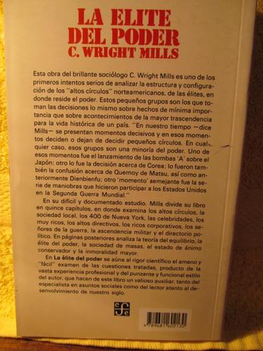 la elite del poder. c wright mills