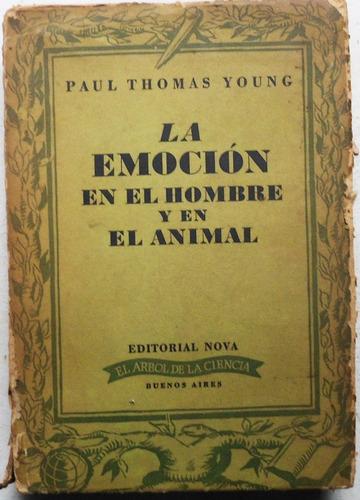 la emoción en el hombre y en el animal / young