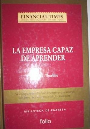 la empresa capaz de aprender - patrick thurbin - folio