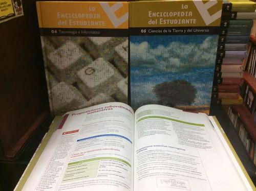 la enciclopedia del estudiante - 20 tomos - santillana