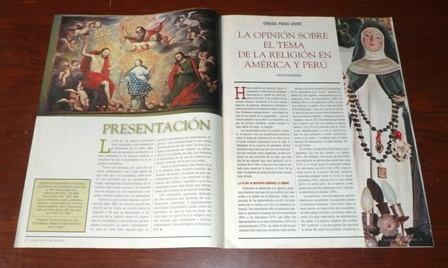 la encuesta del milenio religión el comercio perú américa