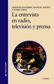 la entrevista en radio, televisión y prensa(libro ciencias d