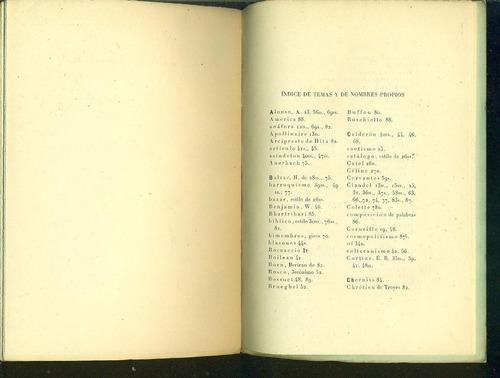 la enumeracion caotica en la poesia moderna - spitzer, leo