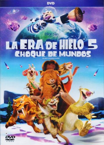 la era de hielo 5 choque de mundos pelicula dvd
