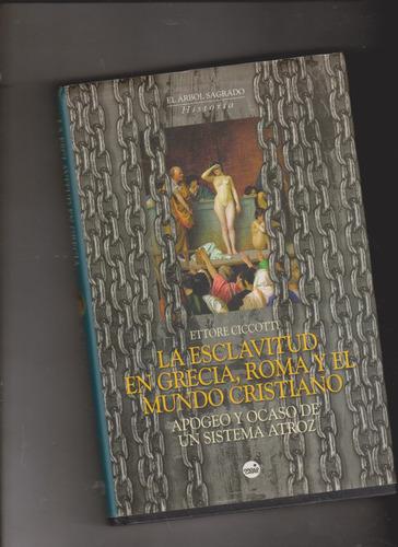 la esclavitud en grecia, roma y el mundo cristiano(ciccotti