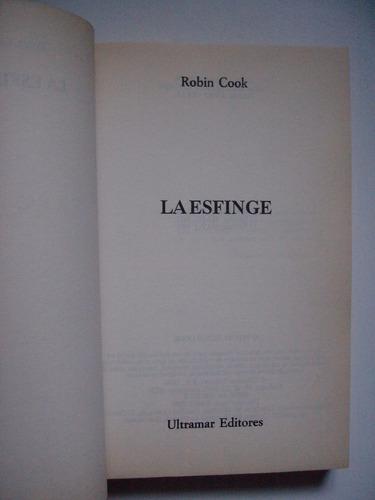 la esfinge - robin cook - 1990
