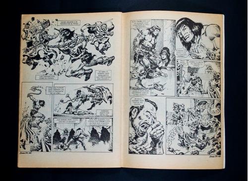 la espada salvaje de conan el bárbaro. no. 86  año 1991 vv4