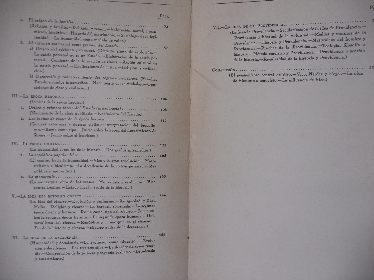 La Estructura De La Historia Universal En Juan Bautista Vico - $ 350 ...