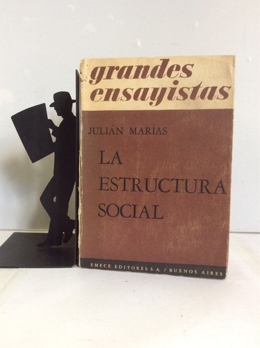 la estructura social, julián marías
