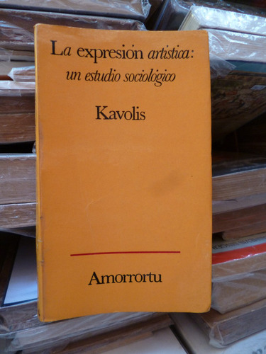 la expresiòn artìstica: estudio sociològico, kavolis