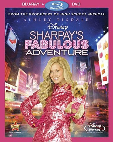 la fabulosa aventura de sharpay, dvd+blu-ray (high school..