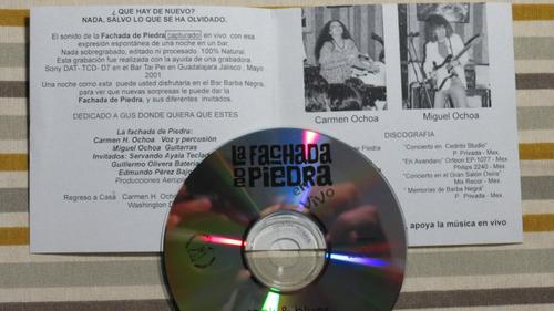 la fachada de piedra  en vivo 2002 cd p. privada