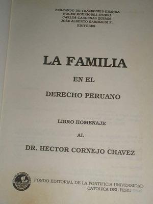 la familia en el derecho peruno