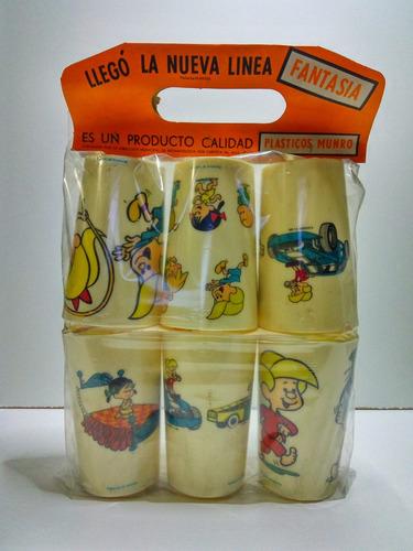 la familia telerin pack por 6 vasos