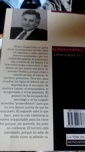 la fauna política latinoamericana (álvaro vargas llosa)