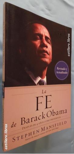 la fe de barack obama- stephen mansfield