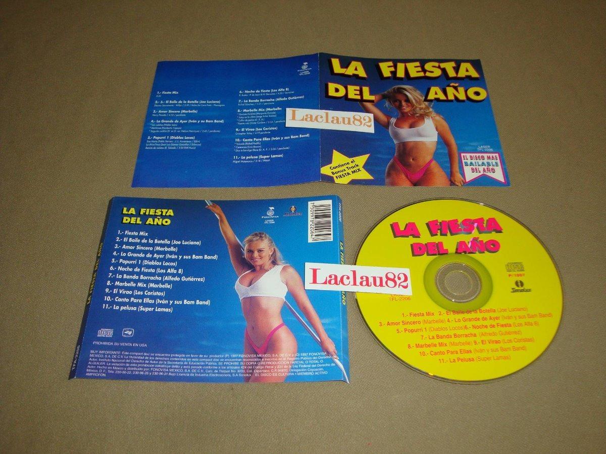La Fiesta Del Año 97 Fonovisa Cd Diablos Locos Super Lamas - $ 100 00