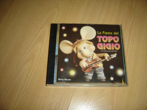 la fiesta del topo gigio cd argentina musica infantil