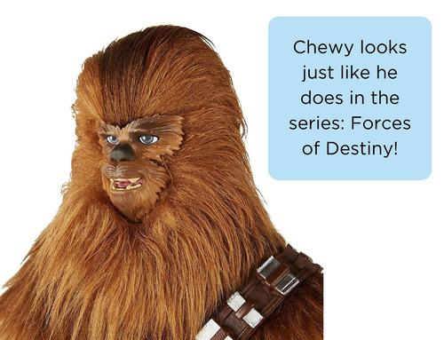 la figura de la aventura de star wars forrest of destiny roa