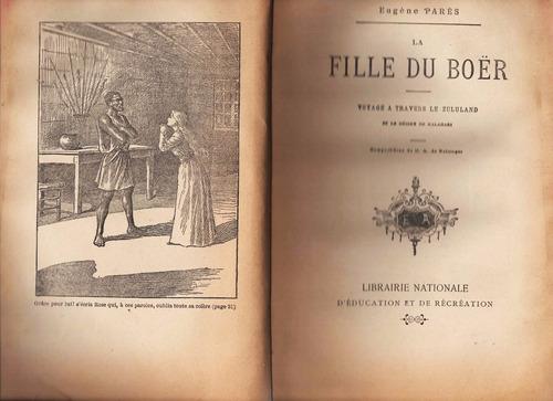 la fille du boër - eugéne parés - ( francés)