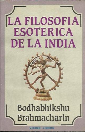 la filosofia esoterica de la india -  bramacharim