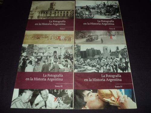 la fotografia en la historia argentina ( 4 tomos ) clarin