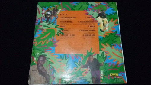 la furia del meneito lp vinilo reggae