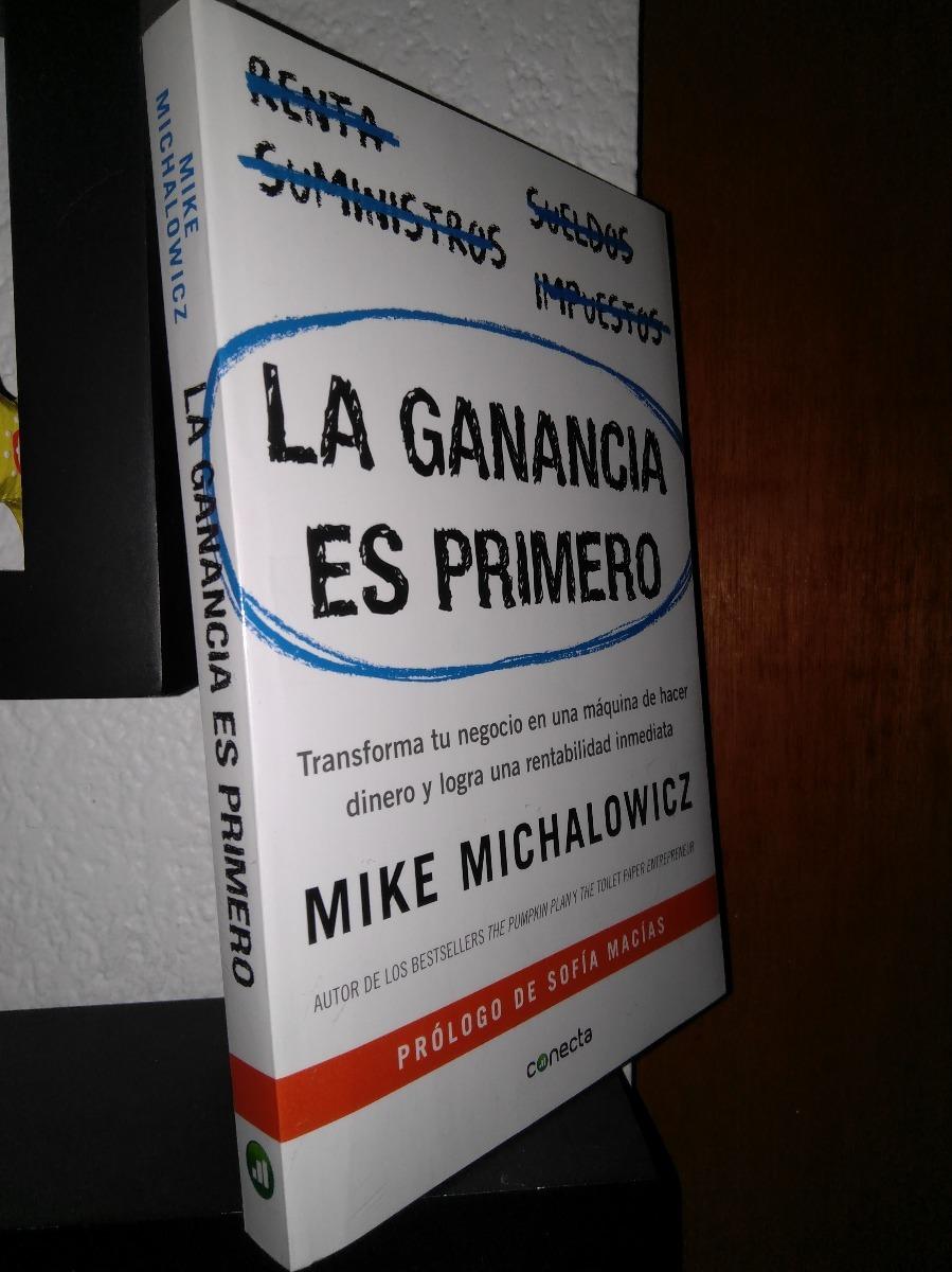la ganancia es primero mike michalowicz original env gratis. Cargando zoom.