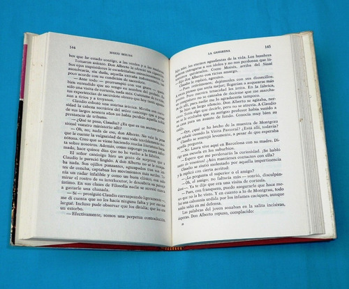 la gangrena mario serjan luis de caralt novela antigua 1971