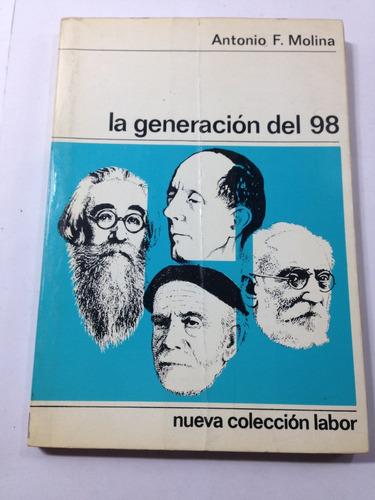 la generacion del 98 antonio f molina 1968
