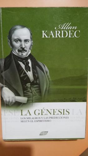 la genesis  libro allan kardec