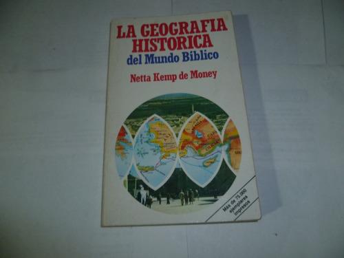 la geografia del mundo biblico