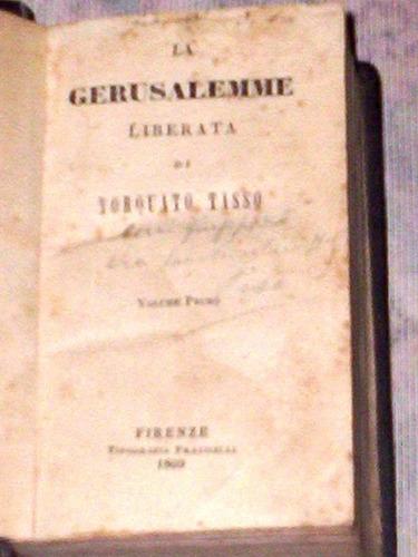 la gerusalemme liberata di torquato tasso 1860