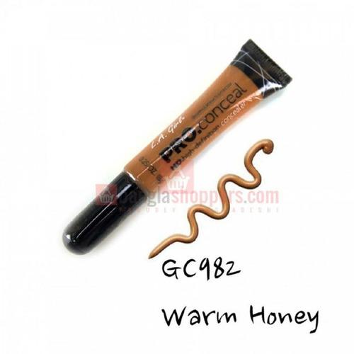 l.a girl - hd pro concealer  warm honey