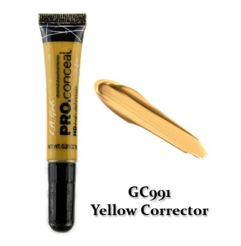 l.a girl - hd pro concealer  yellow